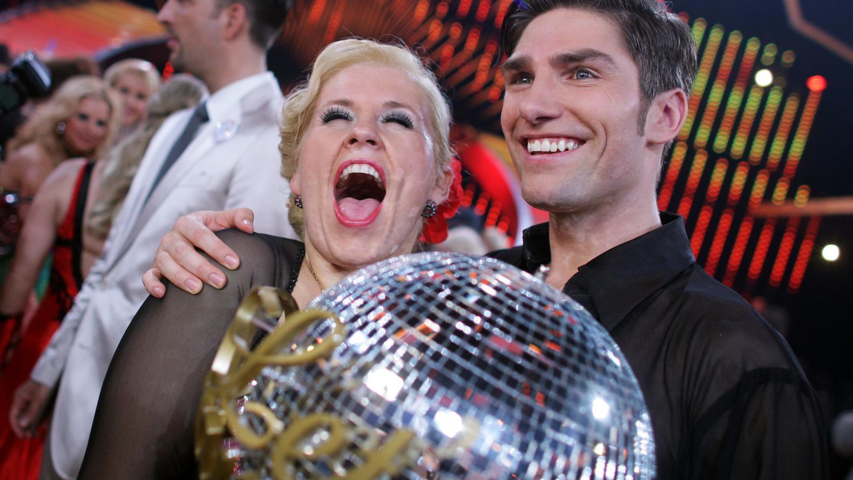 2011 holte sich Maite Kelly zusammen mit Christian Polanc den Tanzpokal.