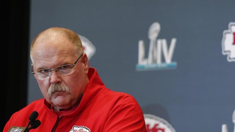 Will mit den Kansas City Chiefs das Stigma loswerden, keine großen Spiele gewinnen zu können: Trainer Andy Reid. Foto: Brynn Anderson/AP/dpa