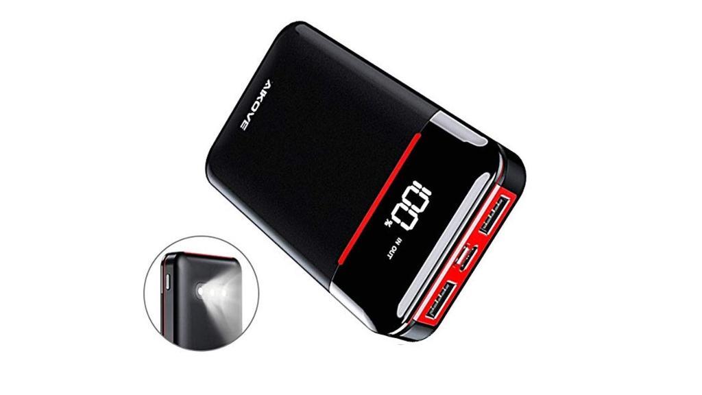 10.000 mAh ist genug für mehrere Handy-Ladungen.