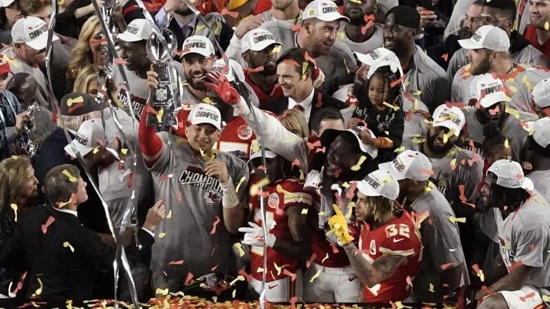 Die Super-Bowl-Sieger von den Kansas City Chiefs können sich auf eine Parade freuen. Foto: Morry Gash/AP/dpa
