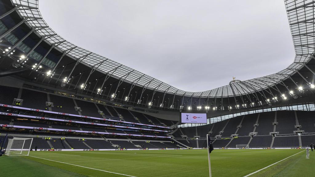 Das Tottenham-Hotspur-Stadium bietet 62.000 Zuschauern Platz