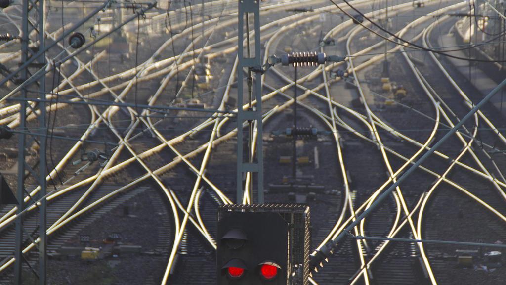 Die Bahn und der Orkan