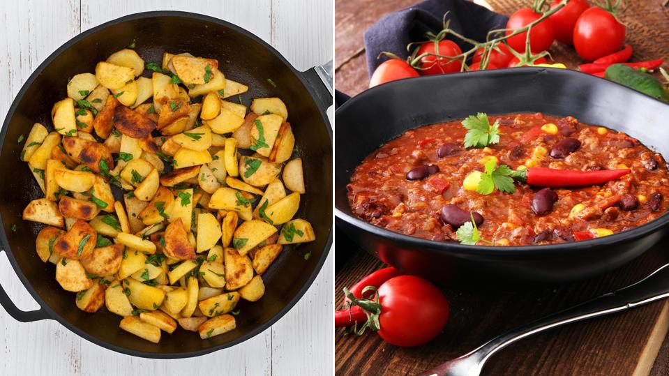 Bratkartoffel und Chili con Carne: Zwei Klassiker, die immer gehen!