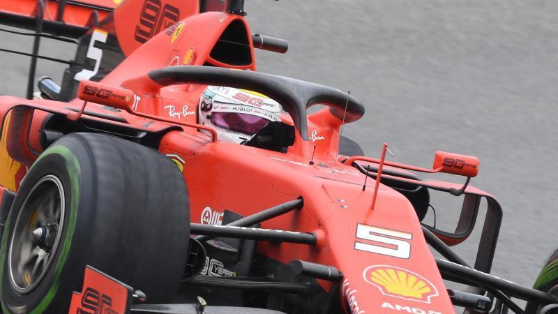 Sebastian Vettels neuer Ferrari wird am 11. Februar vorgestellt. Foto: Uli Deck/dpa
