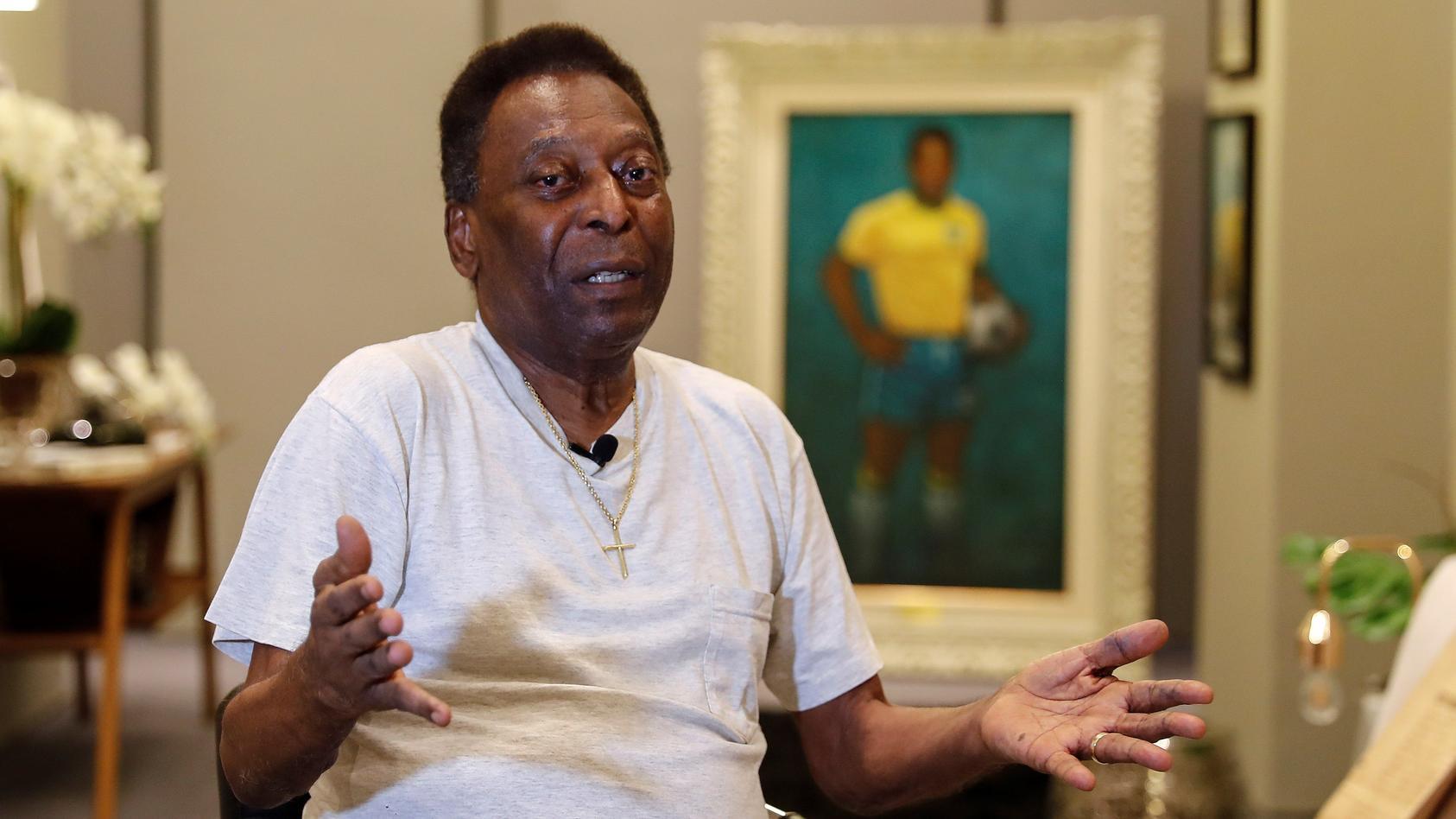 Brasiliens Fußball-Legende Pelé leidet an Depressionen.