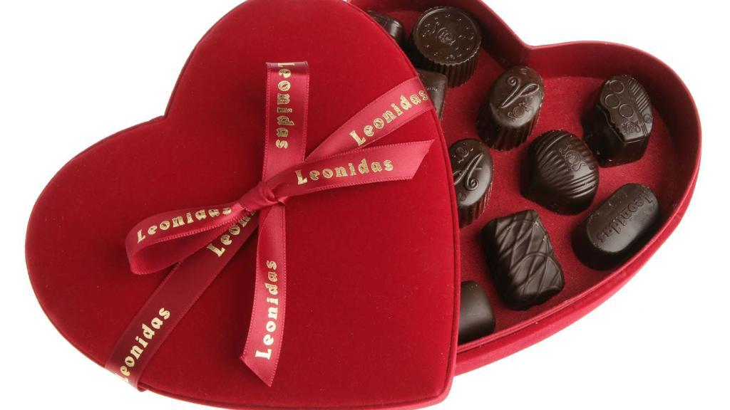 Schokolade zum Valentinstag.