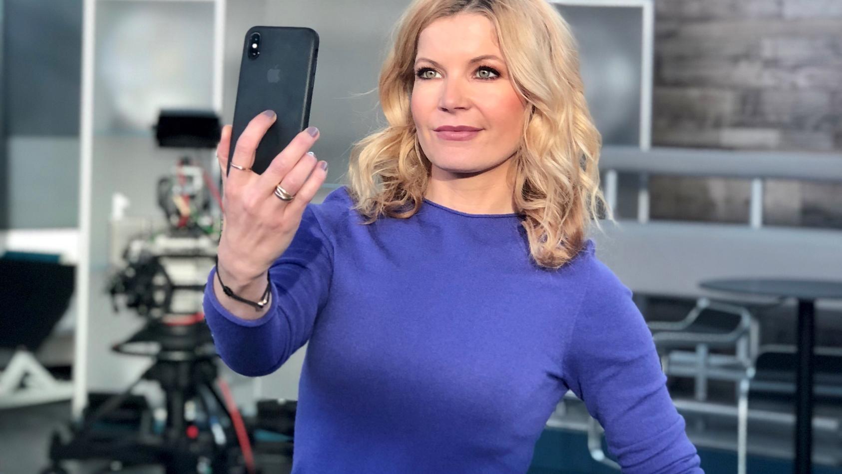 Eva Imhof hat Bammel vor dem Moment, in dem ihre Töchter in den sozialen Netzwerken aktiv werden.