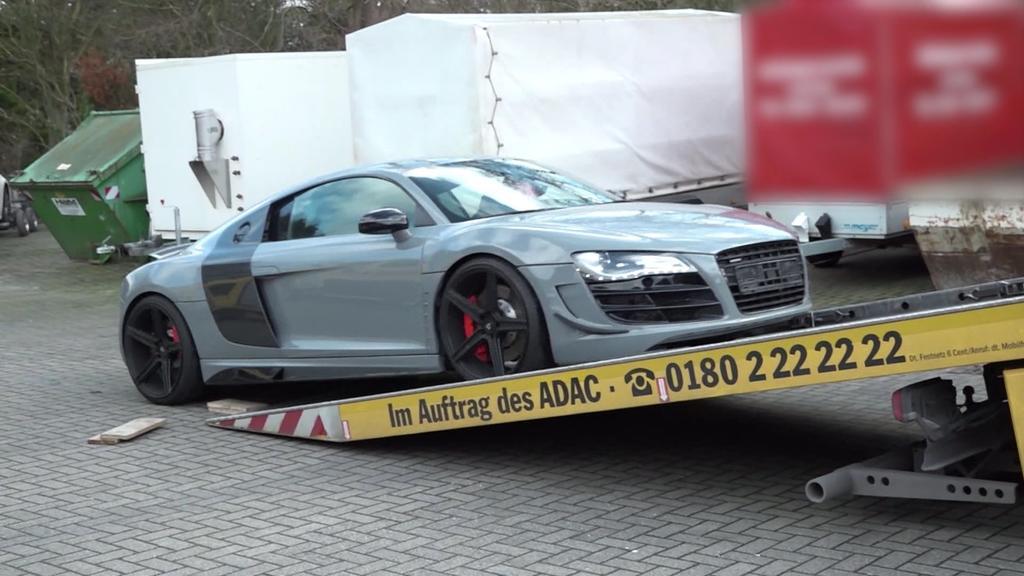 Luxusauto beschlagnahmt