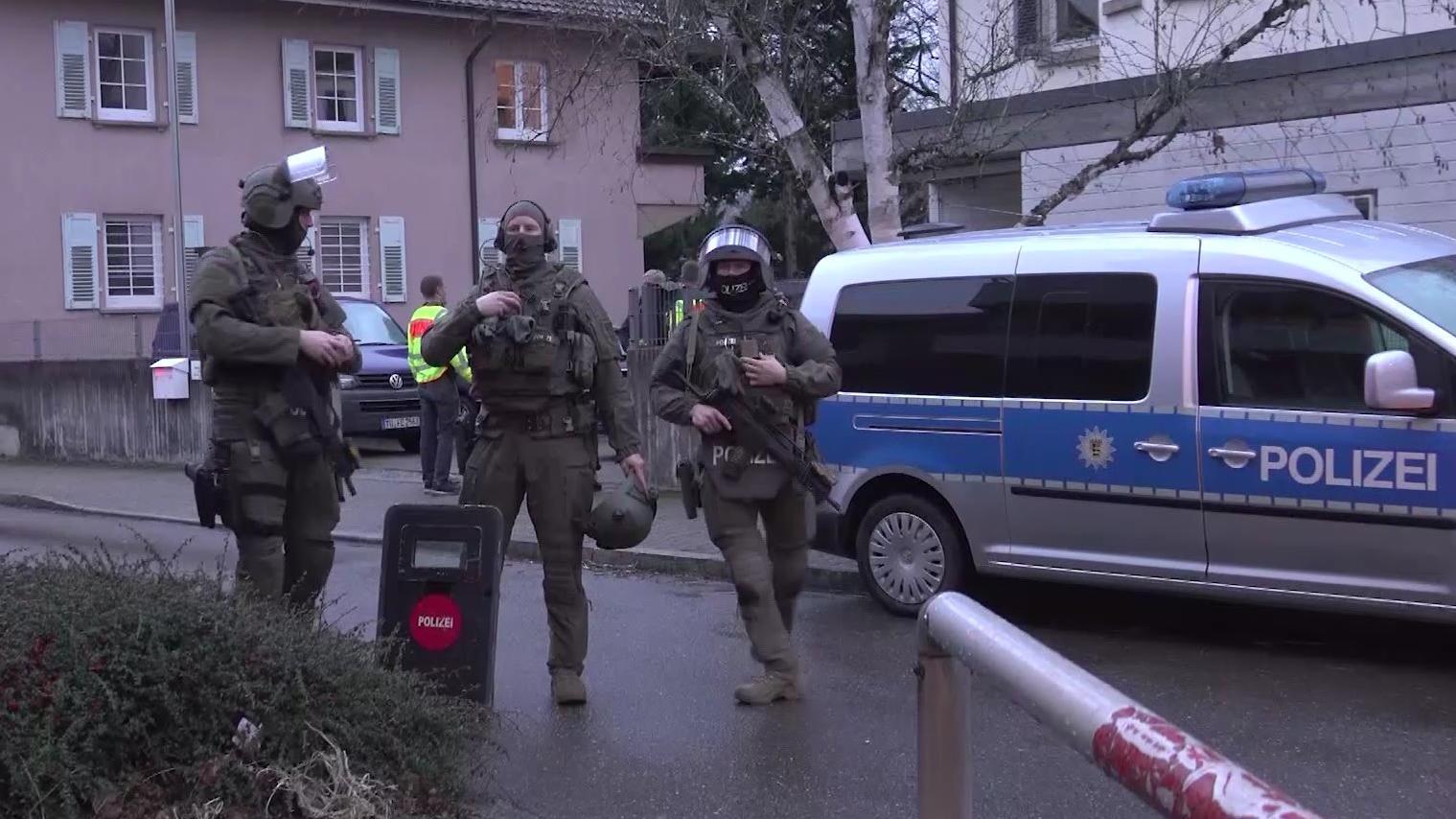 SEK-Einsatz in Plochingen.