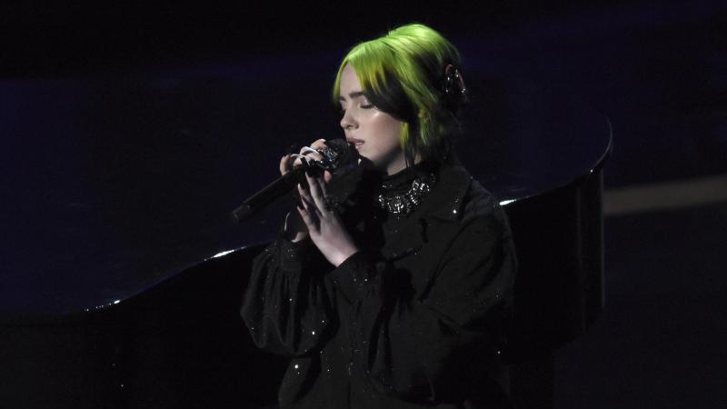 Erst vor ein paar Tagen trat Billie Eilish bei der 92. Verleihung der Oscars in Los Angeles auf. Foto: Chris Pizzello/Invision/AP/dpa