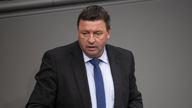 Volkmar Vogel (CDU), Mitglied des Deutschen Bundestags, spricht. Foto: Fabian Sommer/dpa/Archivbild