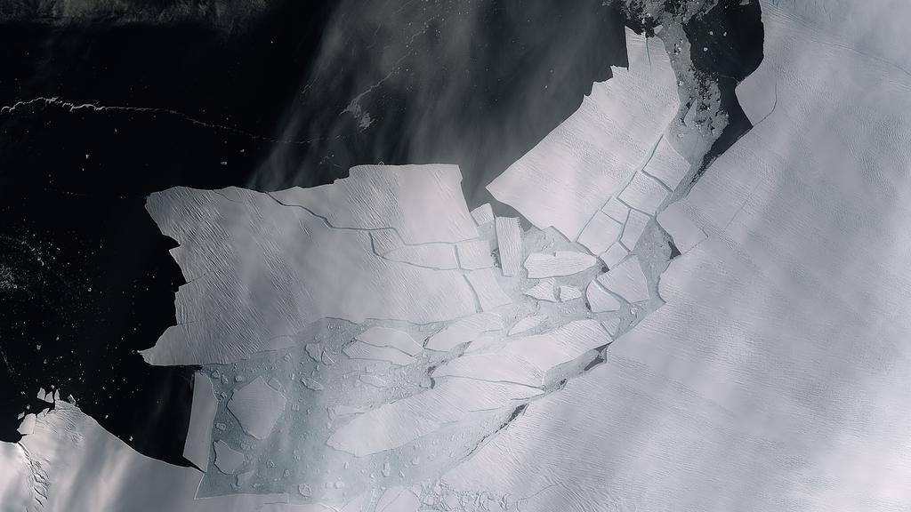 Die Antarktis wird immer wärmer und kleiner