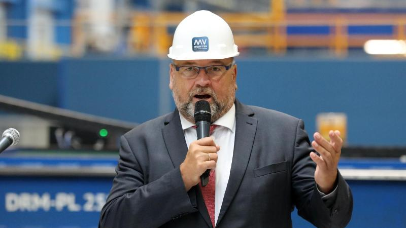Harry Glawe (CDU), Minister für Wirtschaft, Arbeit und Gesundheit von Mecklenburg-Vorpommern. Foto: Bernd Wüstneck/dpa-Zentralbild/dpa