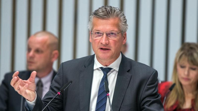 Mecklenburg-Vorpommerns CDU-Generalsekretär Wolfgang Waldmüller. Foto: Jens Büttner/dpa-Zentralbild/dpa/Archiv