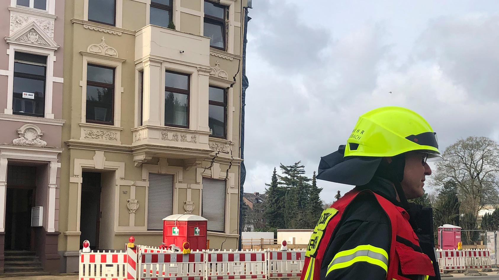 Haus nach Bauarbeiten abgesackt
