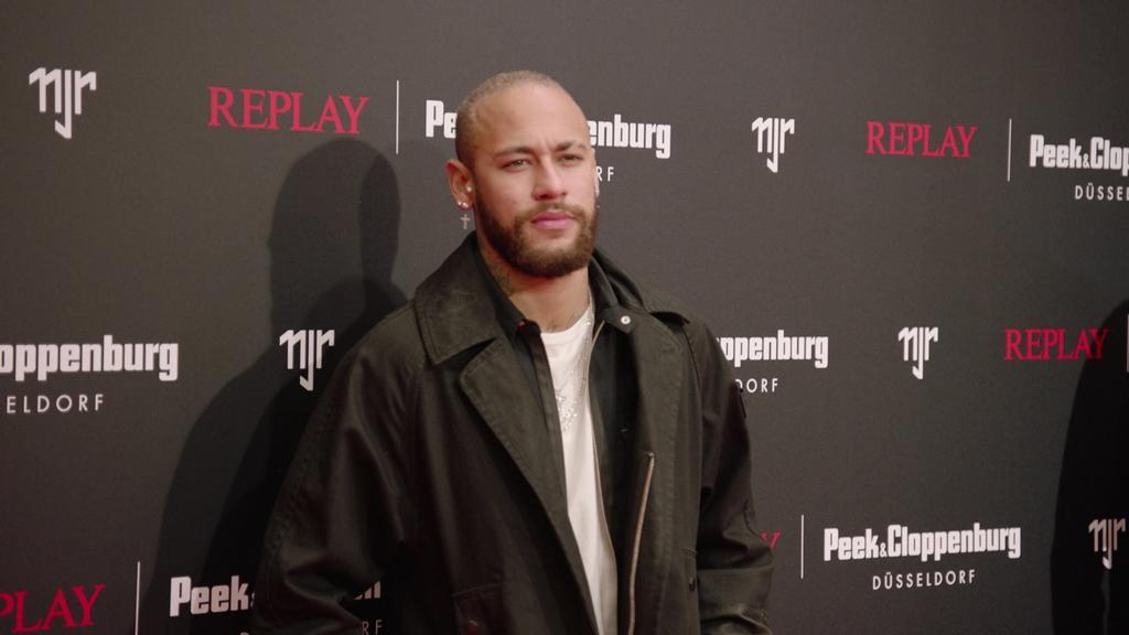 Neymar bei der Replay Collection in Düsseldorf