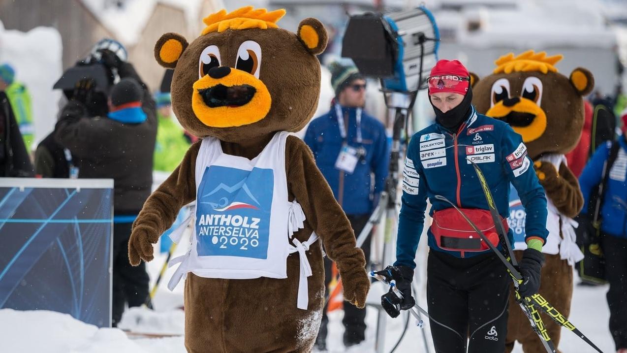 Bumsi Maskottchen Biathlon