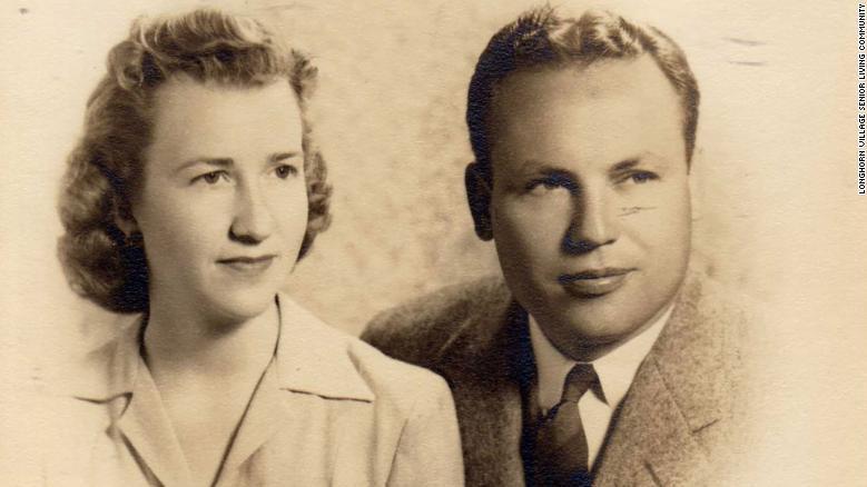 Charlotte und John Henderson sind seit 80 Jahren verheiratet.