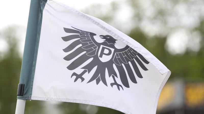 Fans von Preußen Münster zeigten eine bemerkenswerte Reaktion. Foto: Friso Gentsch/dpa