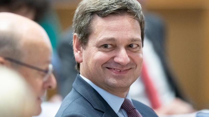 Christian Baldauf, Fraktionsvorsitzender der CDU im Landtag Rheinland-Pfalz, während einer Plenarsitzung. Foto: Silas Stein/dpa/Archivbild/dpa