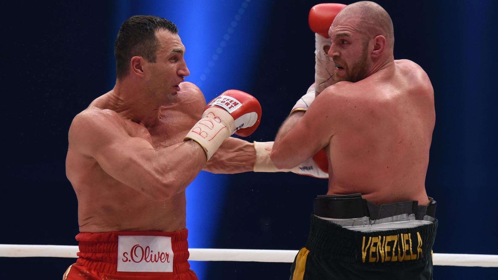 World Heavyweight Championship fight Wladimir Klitschko vs. Tuyson Fury - Fight