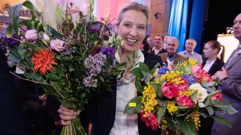 Alice Weidel ist zur Landesvorsitzenden der AfD in Baden-Württemberg gewählt worden. Foto: Marijan Murat/dpa