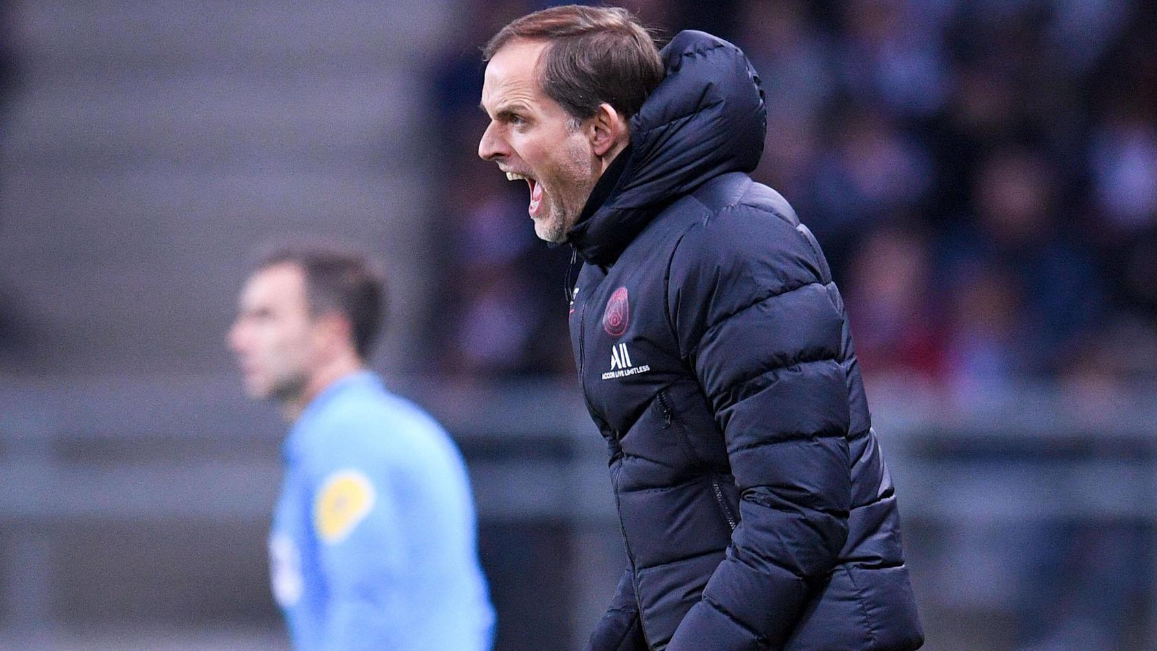 THOMAS TUCHEL (ENTRAINEUR PSG) FOOTBALL : Amiens vs Paris SG - Ligue 1 Conforama - 15/02/2020 FEP/Panoramic PUBLICATIONx
