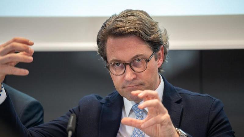 Andreas Scheuer (CSU), Bundesverkehrsminister. Foto: Peter Kneffel/dpa/Archivbild