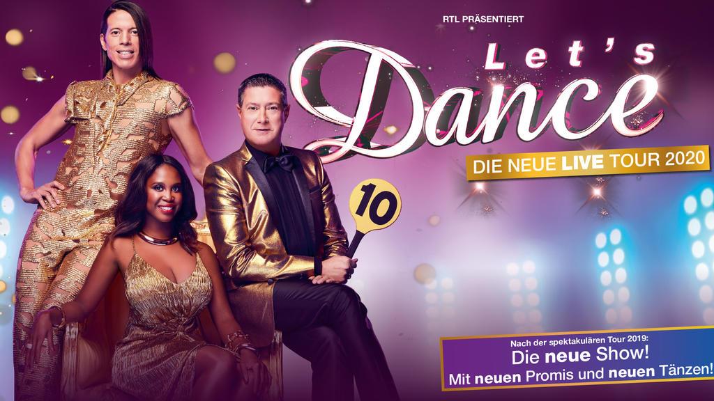 """2020 findet wieder eine """"Let's Dance""""-Tour statt!"""