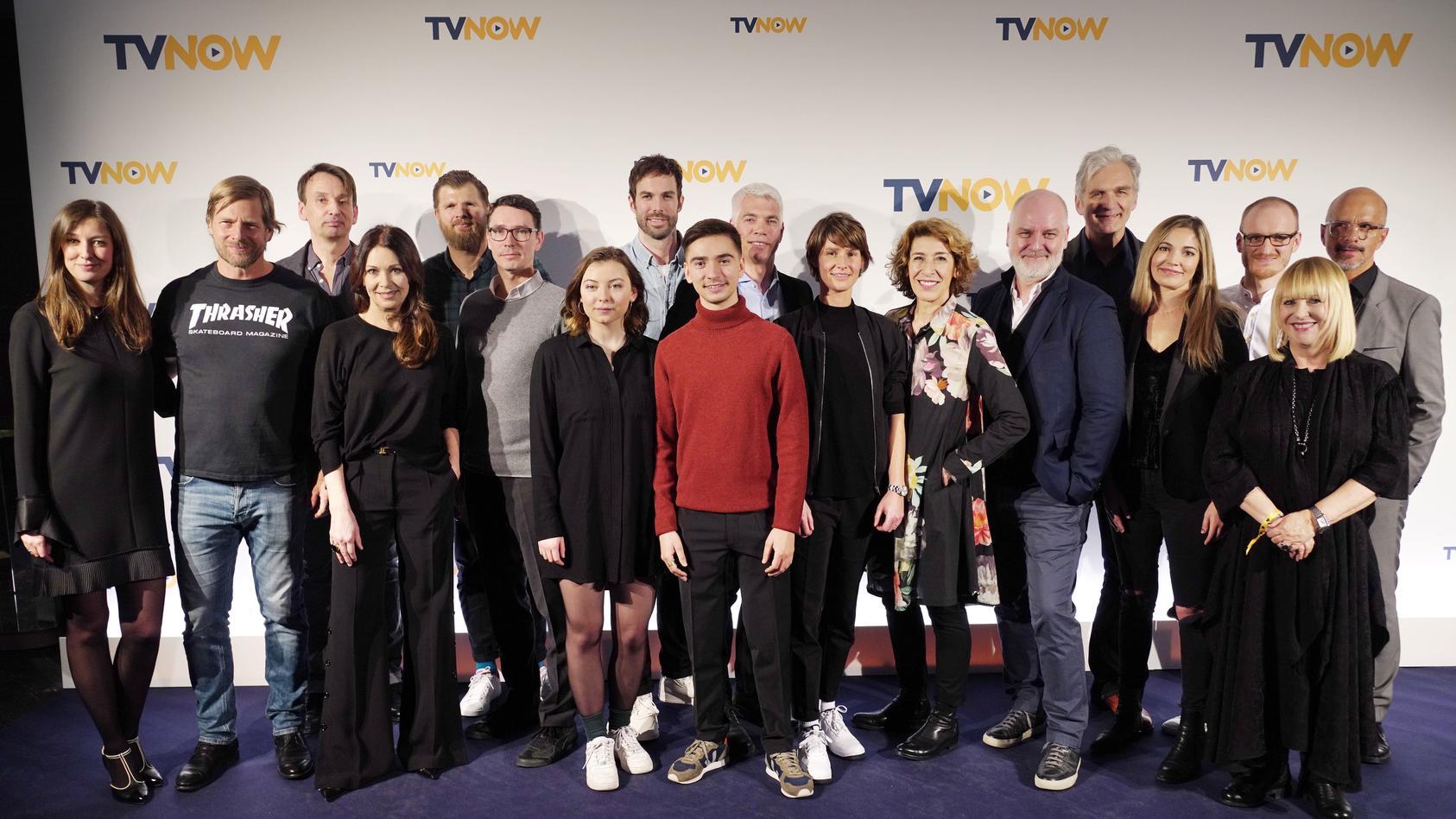 Star-Besetzung bei der Fiction-Offensive von TVNOW.