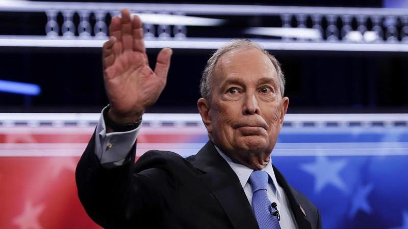 MIchael Bloomberg, einer der reichsten Menschen der Welt, ist erst spät in das Rennen seiner Partei eingestiegen. Foto: Matt York/AP/dpa
