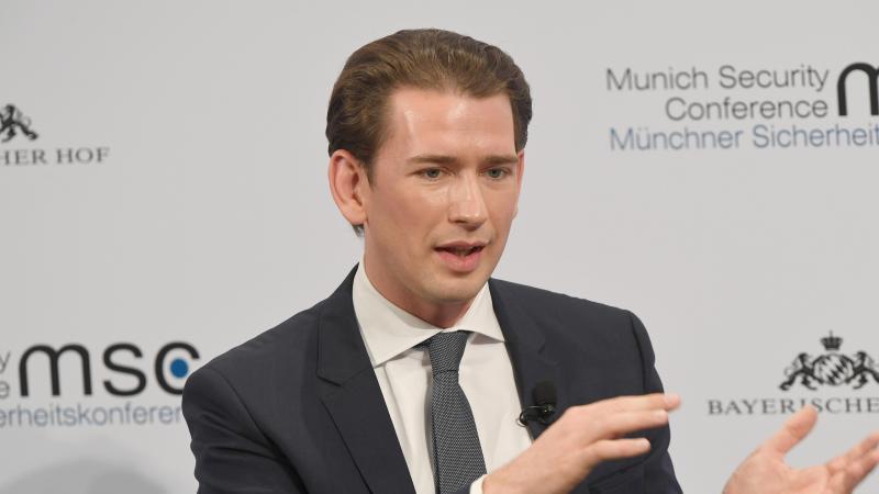 Sebastian Kurz, Bundeskanzler von Österreich. Foto: Felix Hörhager/dpa/Archivbild