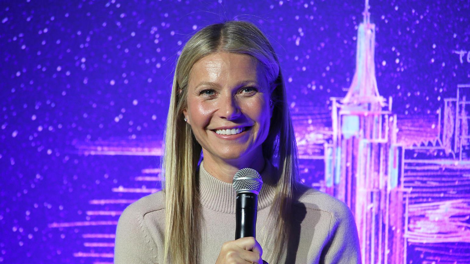 Normalerweise kennen wir Gwyneth Paltrow nur mit Make-Up