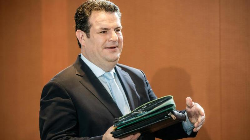 Hubertus Heil (SPD), Bundesminister für Arbeit und Soziales. Foto: Michael Kappeler/dpa/Archivbild