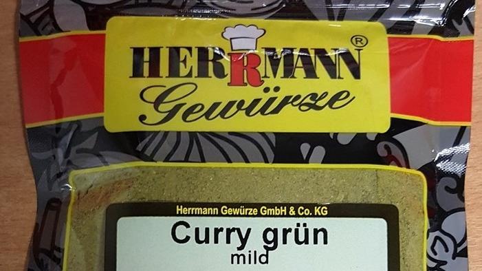 Herrmann Gewürze GmbH & Co. KG ruft grünen Curry wegen Salmonellen zurück.