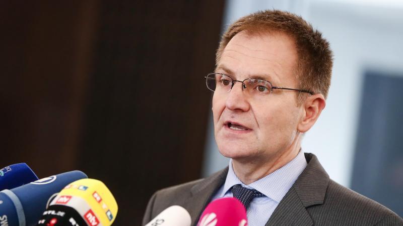 Peter Frank, Generalbundesanwalt beim Bundesgerichtshof. Foto: Christoph Schmidt/dpa