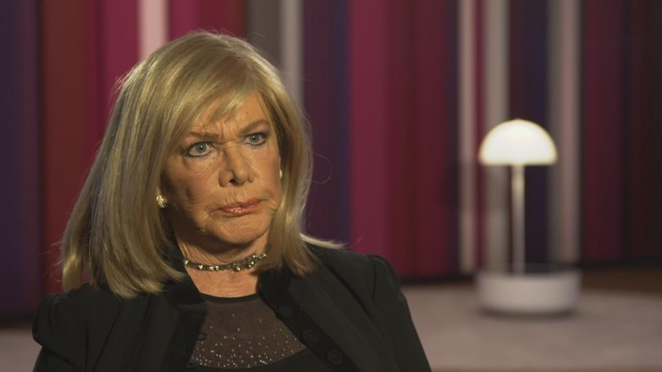 Schauspielerin Ingrid van Bergen muss sich in nächster Zeit schonen