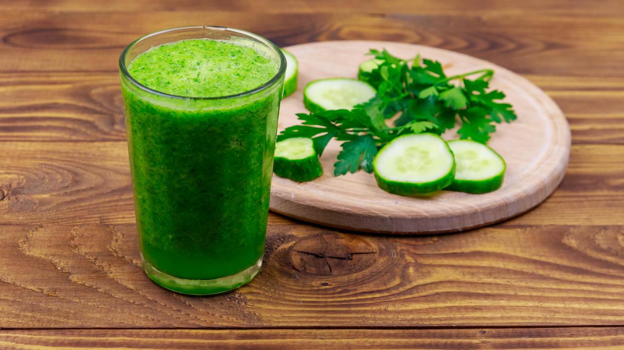 Gurken-Smoothies sind der neue Ernährungstrend, wenn es um gesundes Abnehmen geht.