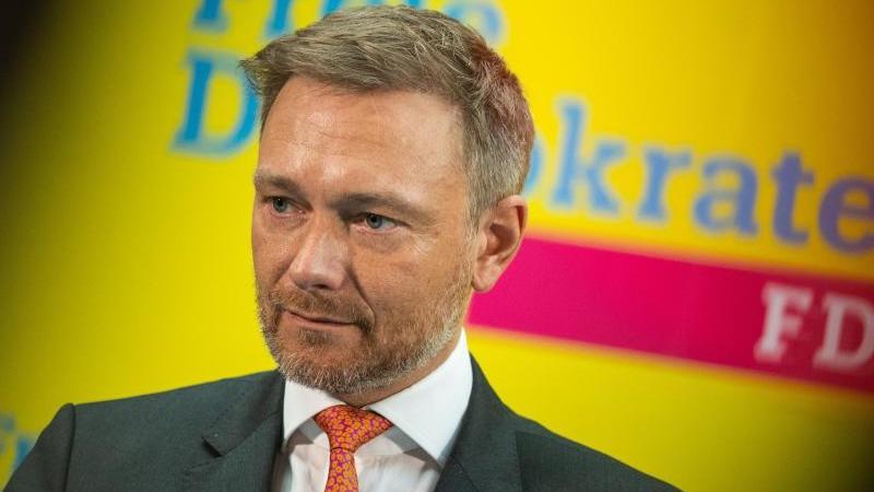 Christian Lindner, Vorsitzender der FDP-Bundestagsfraktion und Parteivorsitzender. Foto: Christophe Gateau/dpa/Archivbild