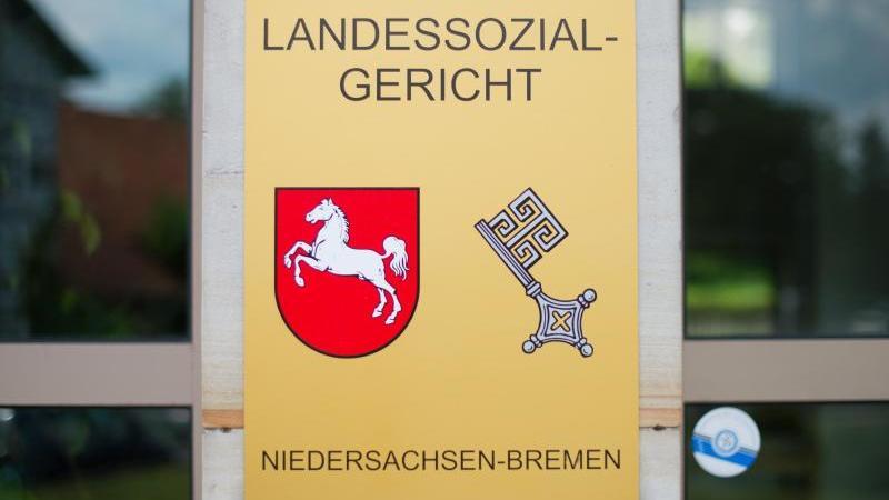 Das Landessozialgericht Niedersachsen-Bremen. Foto: Julian Stratenschulte/dpa/Archivbild