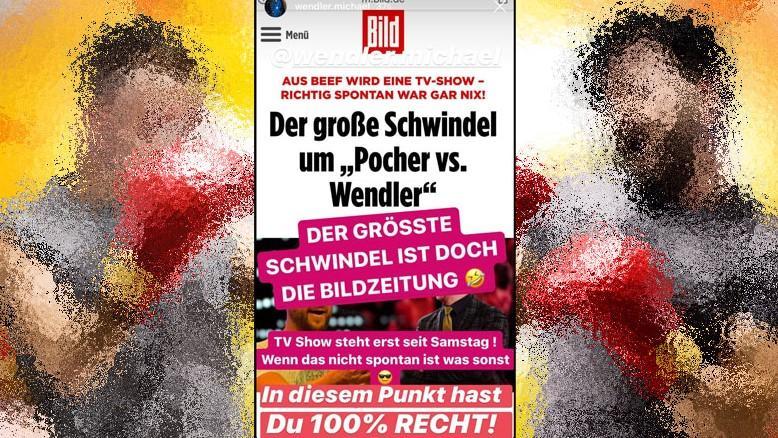 Bei dieser Nummer sind sich Oliver Pocher und Michael Wendler einig: Die Show von RTL ist nicht inszeniert, sondern ein spontanes TV-Projekt.