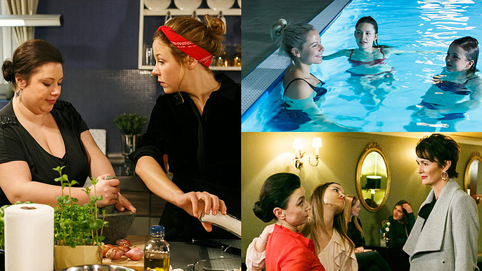 In der Spezial-Folge vom 06. März drehen sich alle Storys nur um die weiblichen AWZ-Schauspielerinnen.