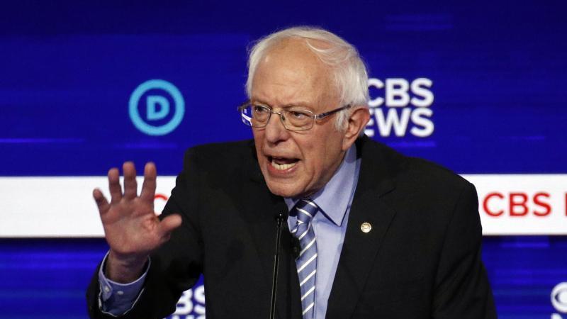 Im Rennen um die Kandidatur liegt nach Vorwahlen in bislang drei US-Bundesstaaten der linke Senator Bernie Sanders vorne. Foto: Patrick Semansky/AP/dpa