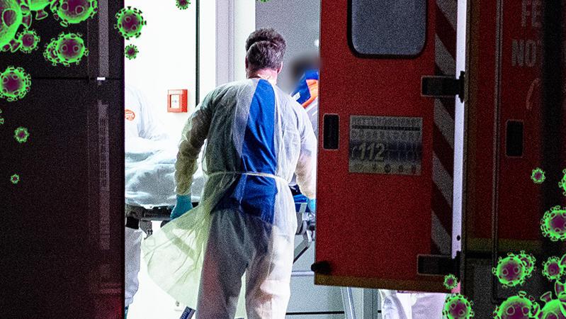 Coronavirus-Fall bleiben im Kreis Heinsberg
