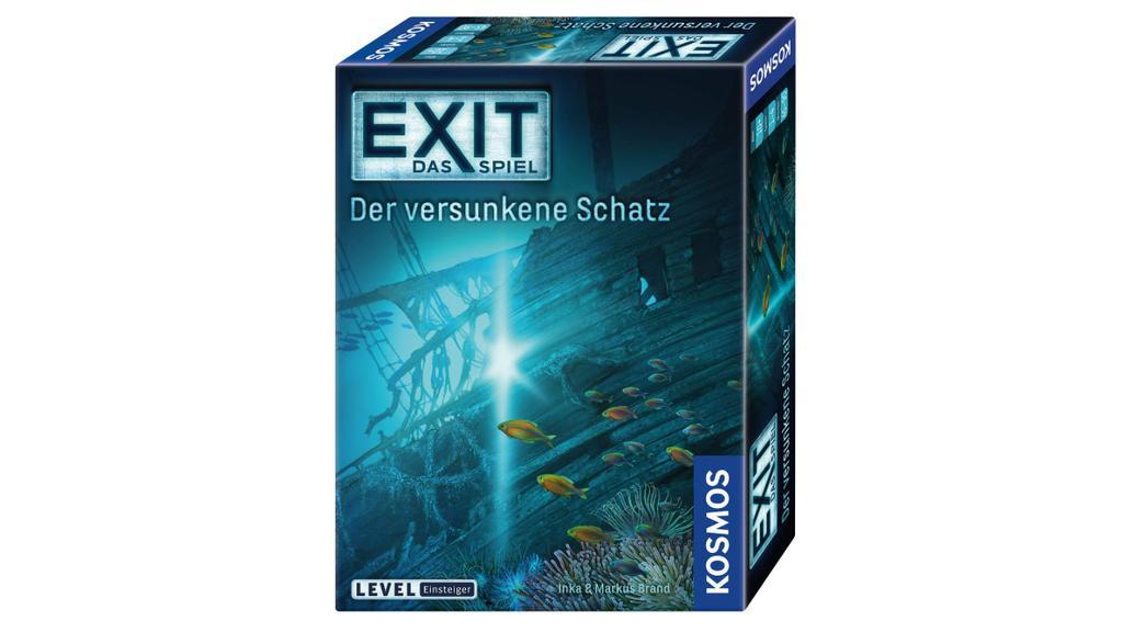 """""""Der versunkene Schatz"""" aus der EXIT Spielereihe."""