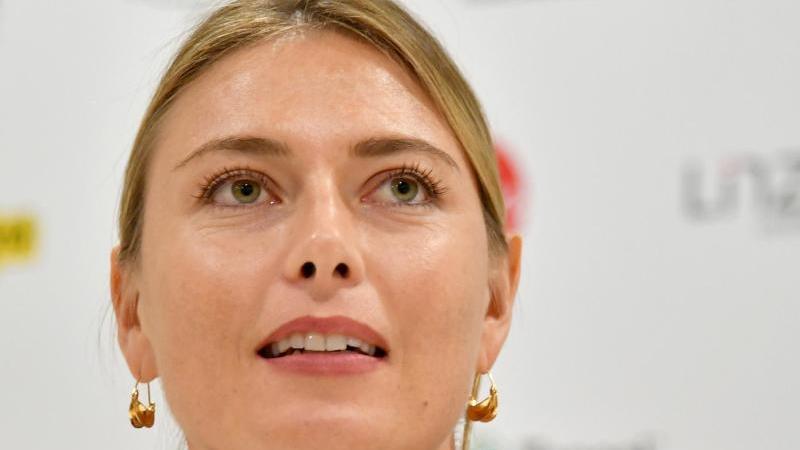 Hat ihren Rückzug vom Tennis erklärt: Maria Scharapowa. Foto: Barbara Gindl/APA/dpa