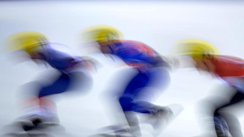 Die für den 13. bis 15. März geplanten Shorttrack-Weltmeisterschaften im südkoreanischen Seoul wurden abgesagt. Foto: Thomas Eisenhuth/dpa-Zentralbild/dpa