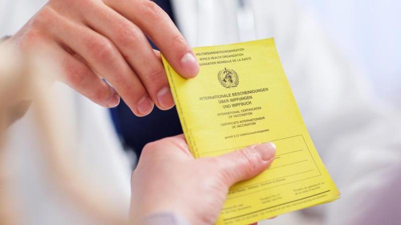 Gegen was bin ich geimpft? Antwort auf diese Fragen gibt der Impfpass. Foto: Christin Klose/dpa-tmn
