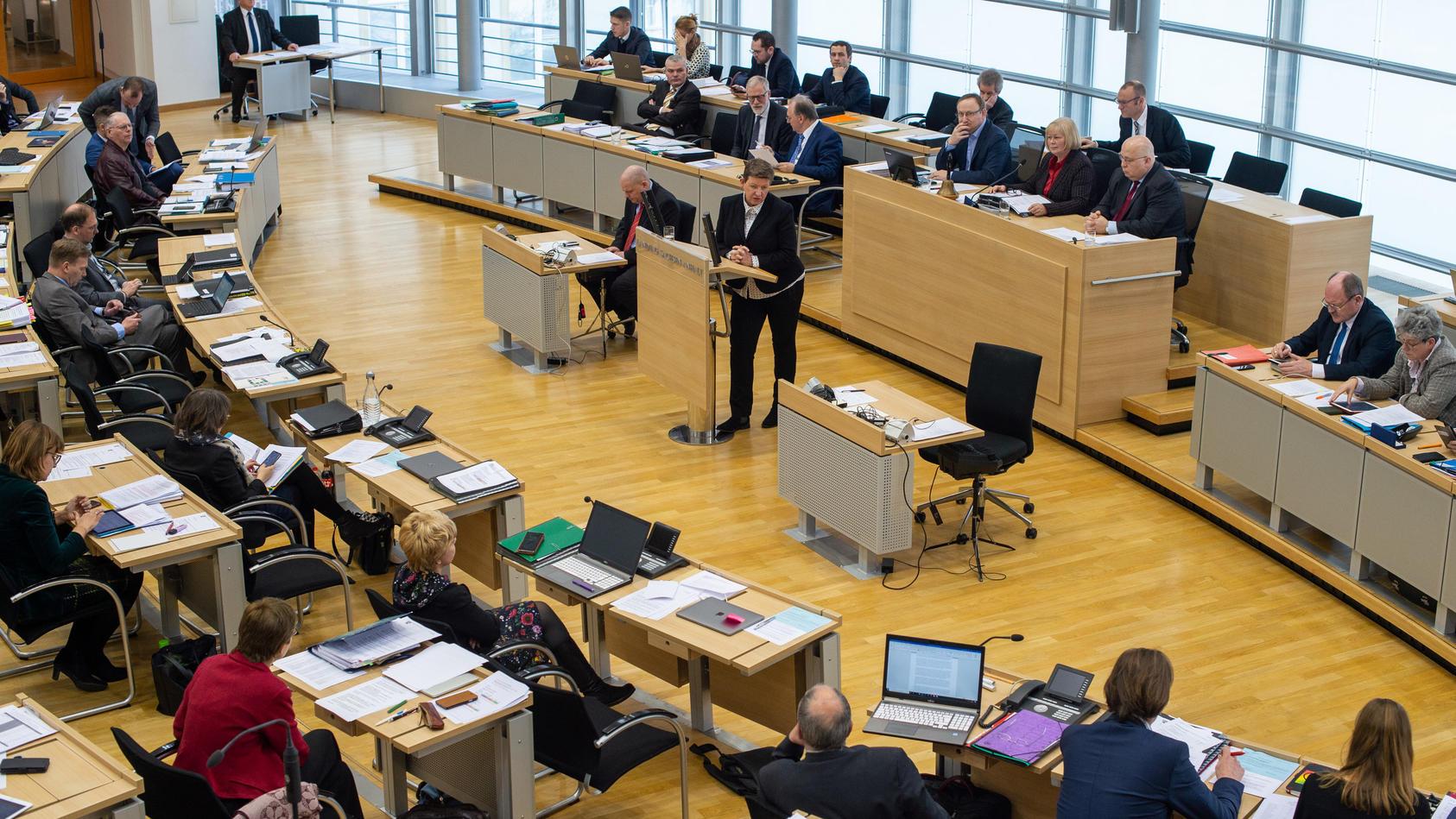 Sitzung des Landtags von Sachsen-Anhalt