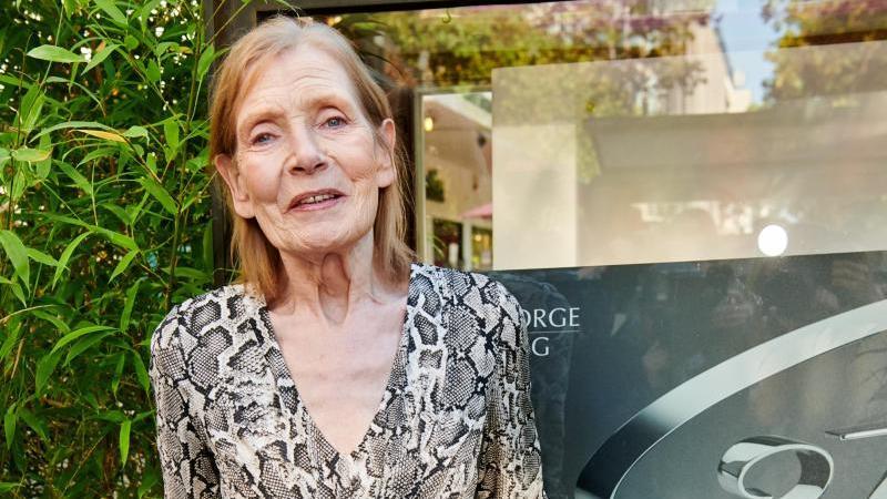 Margit Carstensen, Schauspielerin. Foto: Annette Riedl//dpa/Archivbild